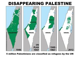 Palestine land lost